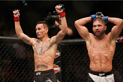 Max Holloway and Jeremy Stephens